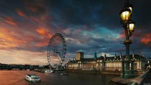 伦敦眼和市政厅