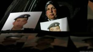 जॉर्डन के पायलट मोएज़ अल-कसाबेह की मां