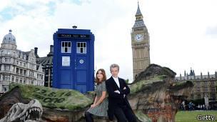 Dr Who y su tardis