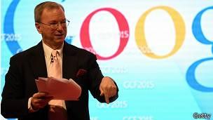 Eric Schmidt, presidente de Google