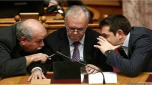 ग्रीस के प्रधानमंत्री एलेक्सिस सिप्रास
