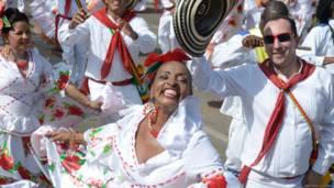Carnaval de Barranquilla (Fotos de Andrés Lizcano).