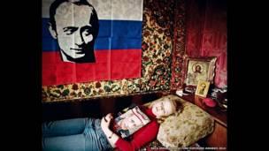 रूसी नेता पुतिन के प्रशंसक