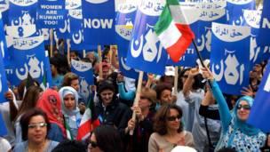 демонстрация в кувейте
