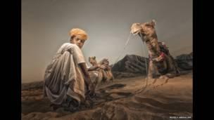 Юный пастух Рузели Абдулла
