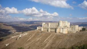 کریک ڈیس چیولیرس نامی قلعہ