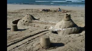 रेत का किला