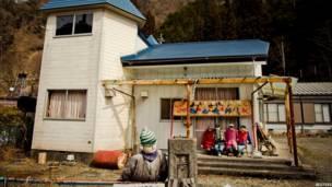काक भगौड़ा, हौआ, जापान, नागोरो गांव, शिकोकु द्वीप