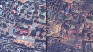 ربار سکوائر، کھٹمنڈو: 13 فروری 2013  27 اپریل 2015