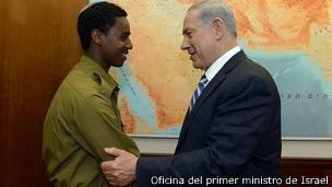 Netanyahu y Fekade