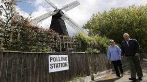 磨坊投票站
