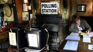 酒館投票站