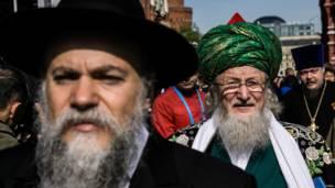 Глава Центрального духовного управления мусульман России Талгат Таджуддин и
