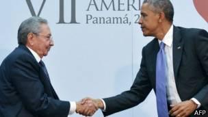 Obama, Castro