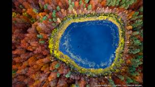 Fotos aéreas mostram efeitos da ação humana em paisagens da Polônia