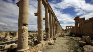 Колоннада в Пальмире