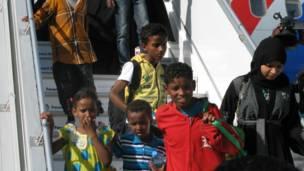 Caruur ka timid Yemen