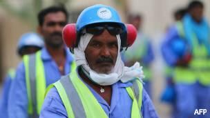 Trabajador de Qatar 2022