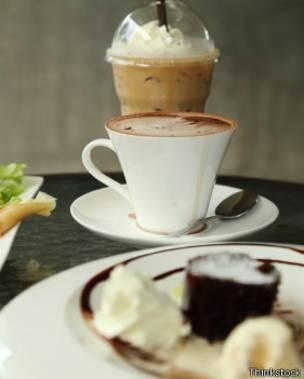 chocolate cantidad de cafeina