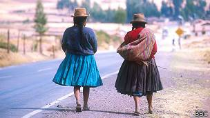 Carretera en Perú