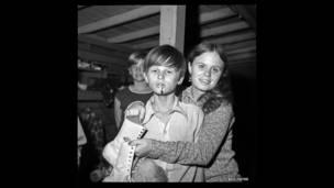 """مشروع بيل يتس """"ساحة تزلج"""" 1972-1973"""