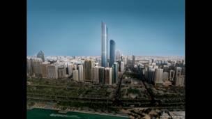 Burj Mohammed Bin Rashid Tower. Photo by Foster+Partners