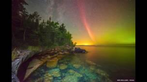"""""""Протонная дуга над озером Великое"""", Кен Уильям"""