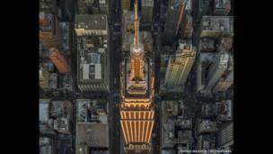 एम्पायर स्टेट बिल्डिंग, न्यूयॉर्क सिटी, अमरीका, रेक्स फ़ीचर्स