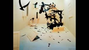"""""""Черные птицы"""", Ли Янг Ли."""