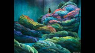 """""""Ночной пейзаж"""", Ли Янг Ли."""