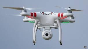 Dron de seguridad