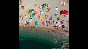 सेंज शहर का समुद्री तट, क्रोएशिया