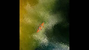 गाल्वे की झील में डोंगी, लिथुआनिया