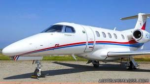 Avioneta Embraer Phenom 300