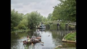 फ़्लैटफ़ोर्ड, पूर्वी बर्घॉट, सफॉक में स्टॉर नदी