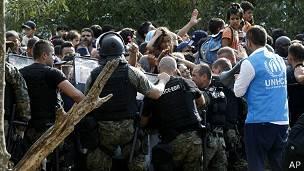 macedonia, refugiados