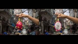 ثان لونغ، فاكهة التنين الفيتنامية.