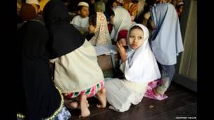 Madrasah di Hpa-an, 2012