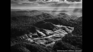Следы деятельности лесорубов в бразильской Амазонии