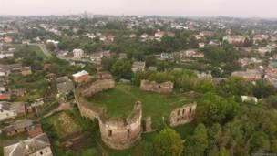 Замки України з повітря