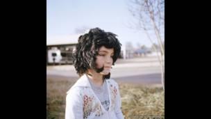 Little Girl, Elvis Presley Boulevard, from I Called her Lisa-Marie by Clementine Schneidermann