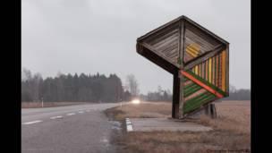 Em uma viagem de bicicleta, Christopher Herwig descobriu relíquias da ex-União Soviética. Foto: Christopher Herwig/herwigphoto.com