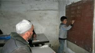 مدرسهای در دره یغناب