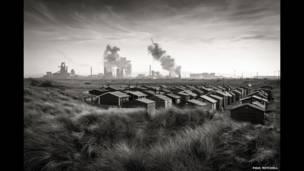 """Саут-Гэйр, Тиссайд, Англия"", фото Пола Митчелла"