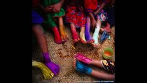 Huichol children / Survival International