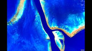 Astronauta Scott Kelly conseguiu retratar lagos, rios e desertos em apenas um sobrevoo sobre o país