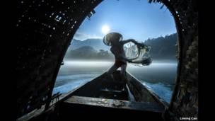 الصيد بالشباك للمصور ليمينغ تساو.