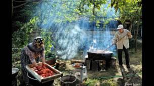 الطماطم للمصور التركي بولينت سوبيرك.