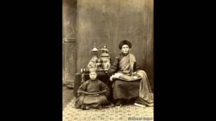 توماس تشايلد، رقم 192 لاما المنغولي، سبعينيات القرن التاسع عشر