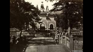 توماس تشايلد، رقم 138 بي يون تسي، معبد السحابة الزرقاء.